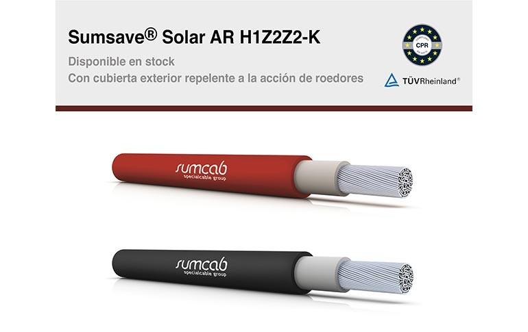 NUEVO Sumsave® Solar AR H1Z2Z2-K CON CUBIERTA ANTIROEDOR
