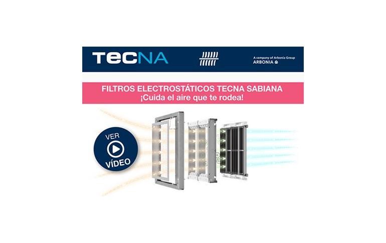 Filtros electrostáticos TECNA SABIANA