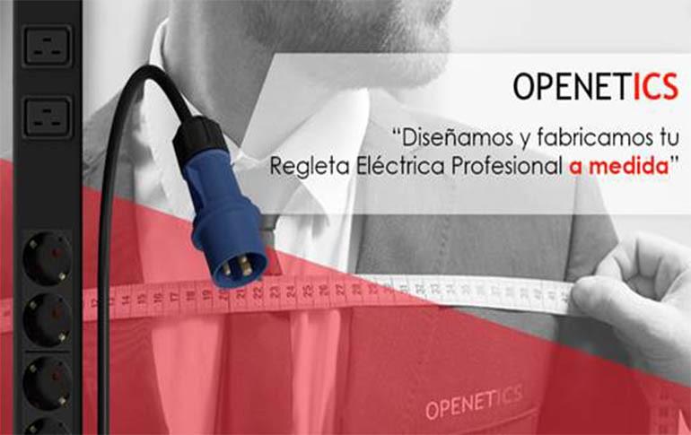 Openetics diseña y fabrica regletas a medida