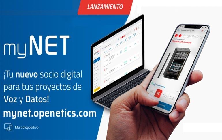 Nuevo configurador de voz y datos myNET de OPENETICS