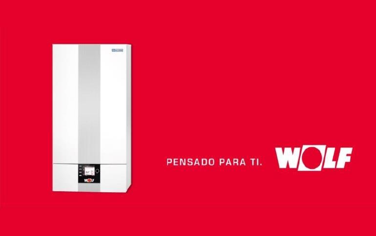 Nueva caldera de condensación a gas CGB-2 38 y 55 de WOLF