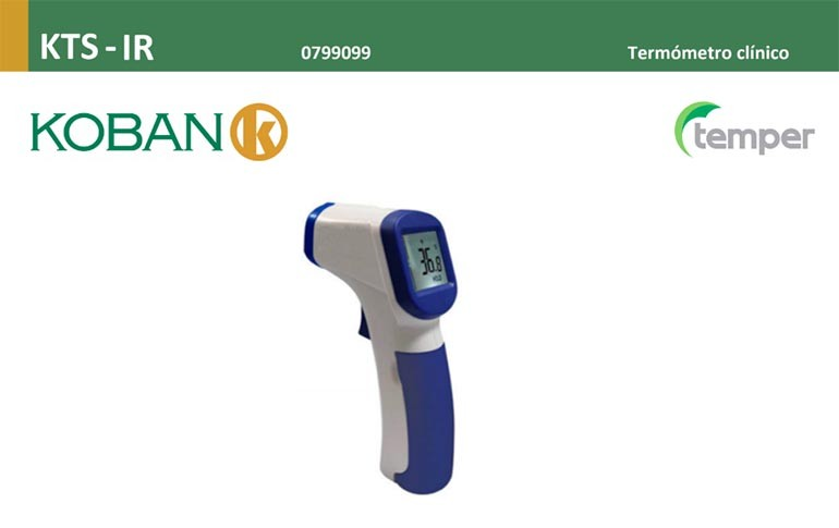 Nuevo termómetro clínico digital de TEMPER ENERGY