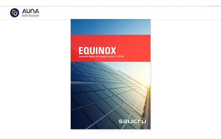 Descubre los nuevos inversores solares EQUINOX de Salicru