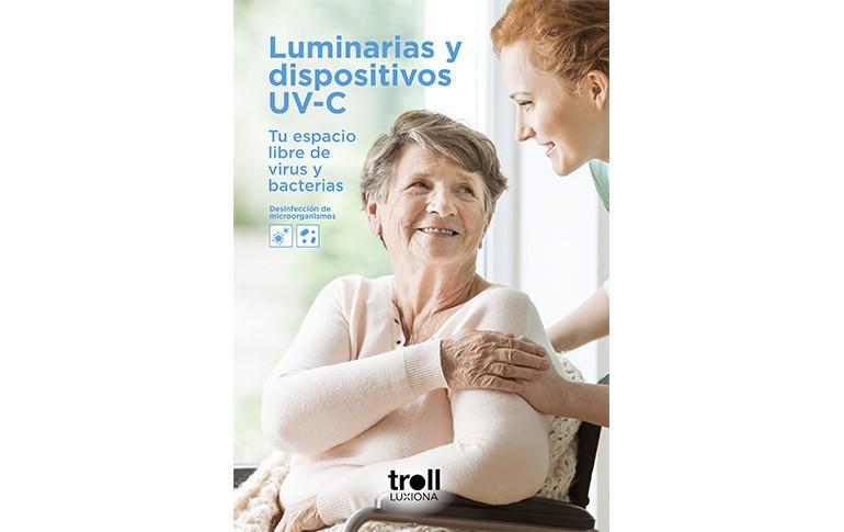 Luminarias y dispositivos para la desinfectación germicida UV-C de Luxiona Group
