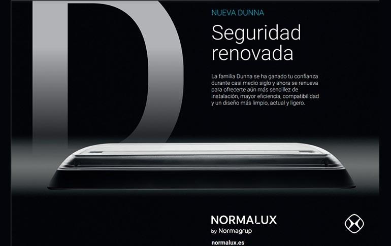 Nueva luminaria Dunna de Normalux
