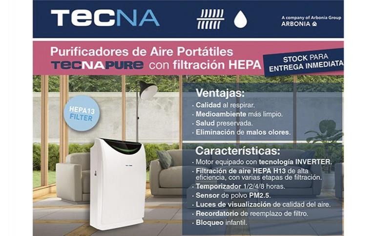 Purificadores de aire portátiles Tecna