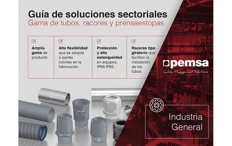 Nueva gama de tubos para el sector industrial de Pemsa