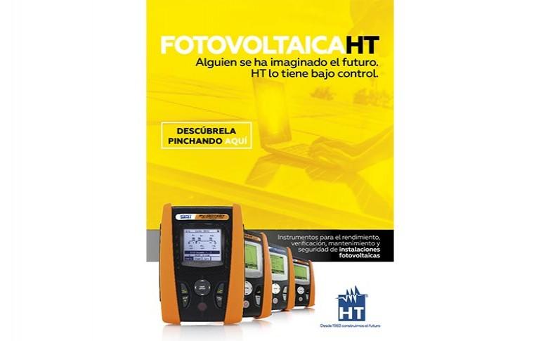 Descubre la gama completa de instrumentación fotovoltaica HT