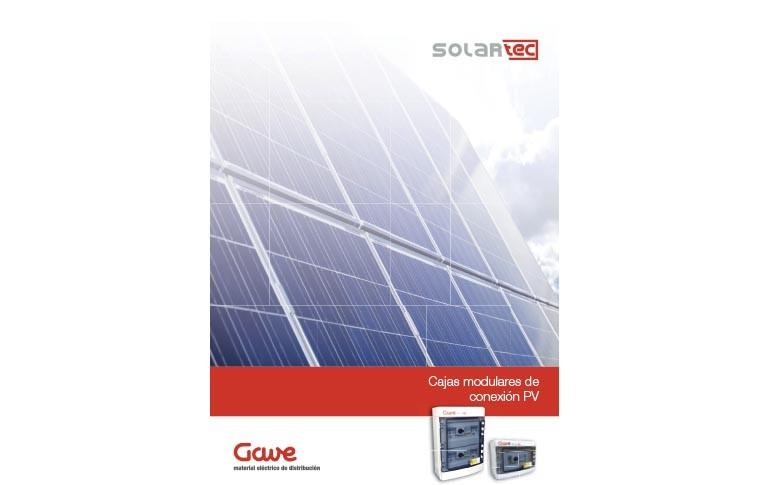 Nuevo catálogo de cajas modulares de conexión PV de Gave