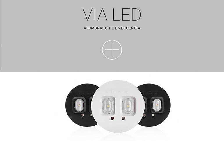 Nuevas luminarias de emergencia VIA LED de Normagrup