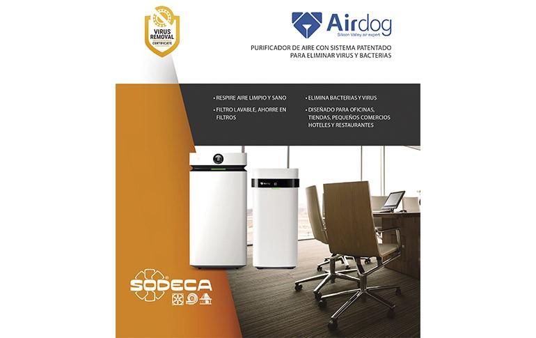 Airdog – nuevo purificador de aire  de SODECA