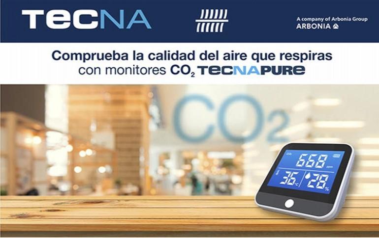 Monitores CO2 TECNAPURE de TECNA