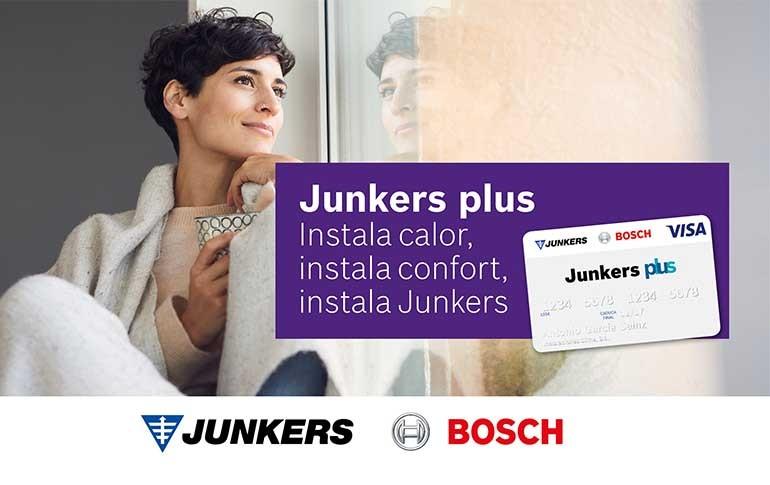 Junkers comienza el año premiando la instalación de sus calderas murales de condensación