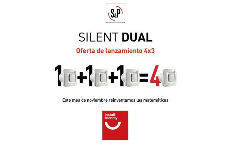 Oferta Silent Dual: compra 3 y llévate 4