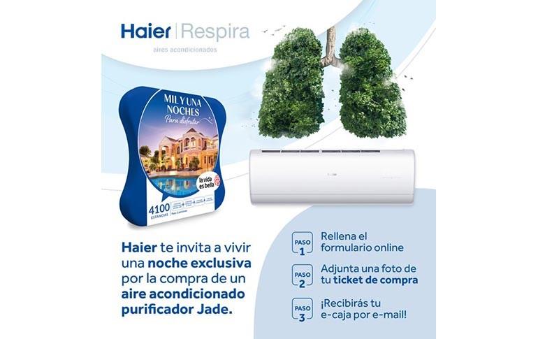 ¡Consigue una noche de ensueño con Haier Jade!