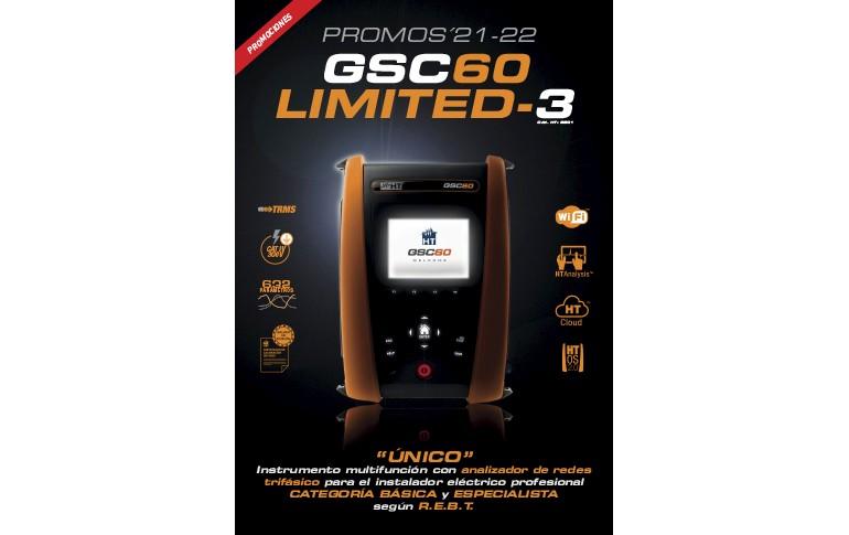 Promociones GSC60 de HT Instruments