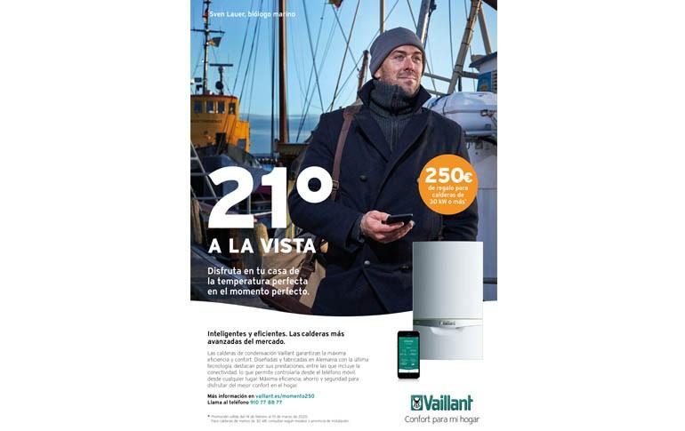 Recibe 250€ por tu caldera Vaillant